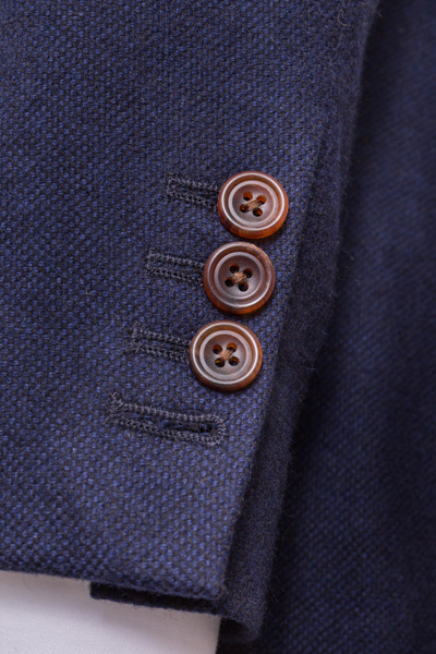 Bespoke Sports Jacket Button Detail