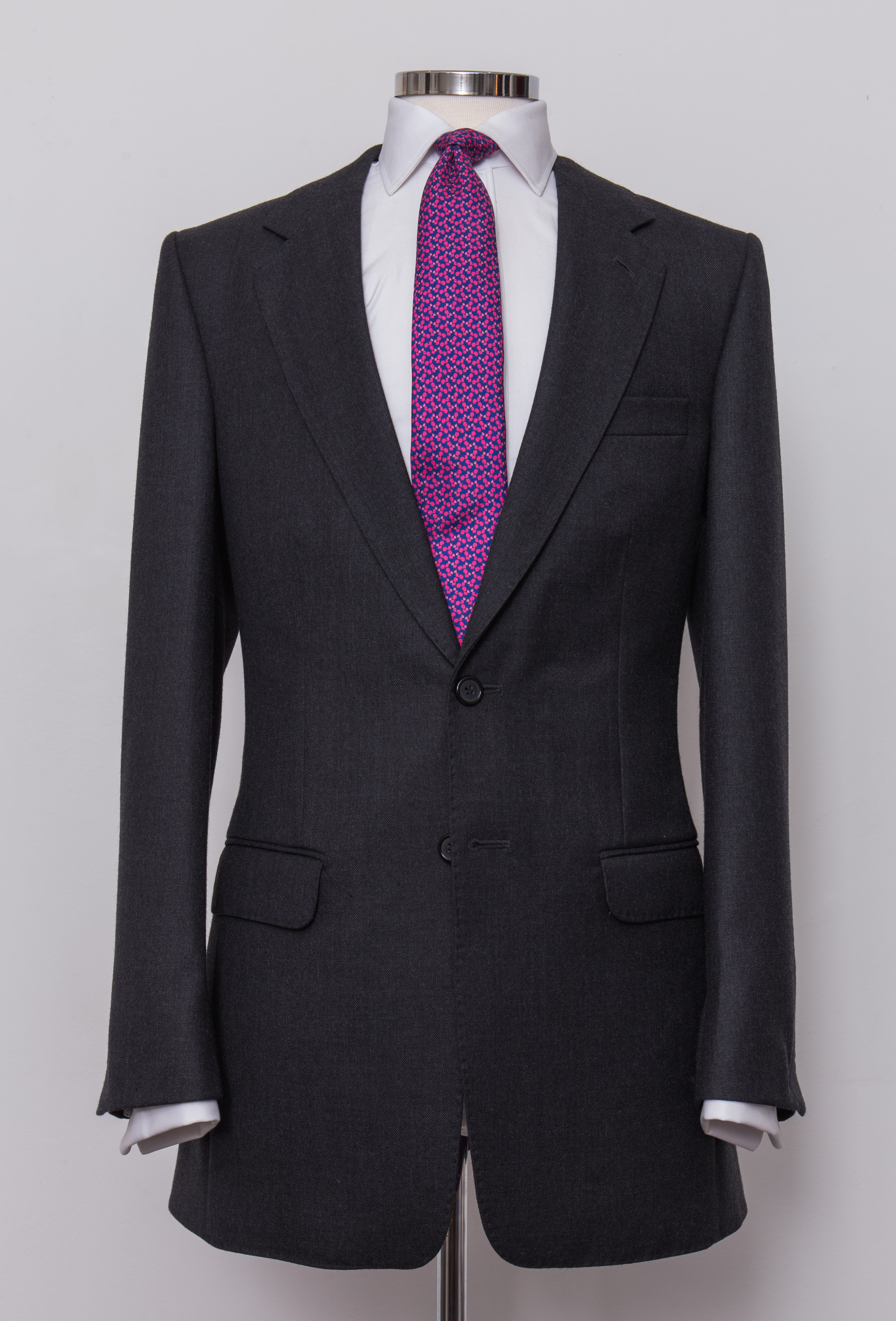 Bespoke Grey Charcoal Suit Tailoring