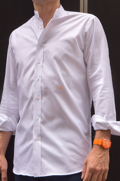 Shanghai tab collar shirt