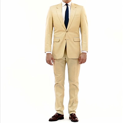 Bespoke Cream Suit