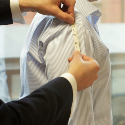 How to Measure for a Bespoke Tailored Shirt