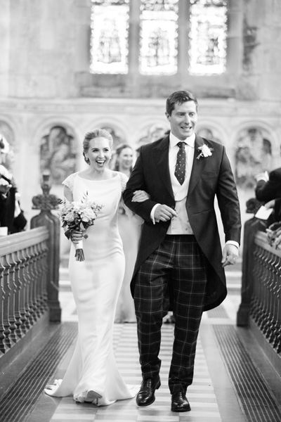 Bespoke Wedding Morning Suit in black and white