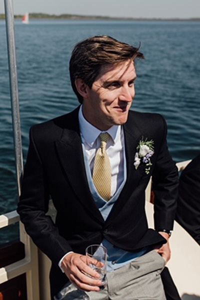 Bespoke Wedding Morning Suit for a summer groom